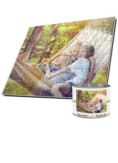 8x10 Jigsaw-Cut with 42 Pieces Custom Acrylic Puzzle