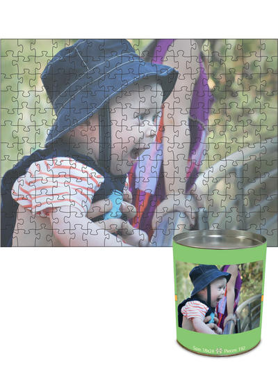 18x24 Jigsaw-Cut with 192 Pieces Custom Puzzle