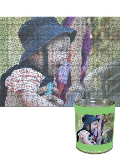 18x24 Jigsaw-Cut with 768 Pieces Custom Puzzle