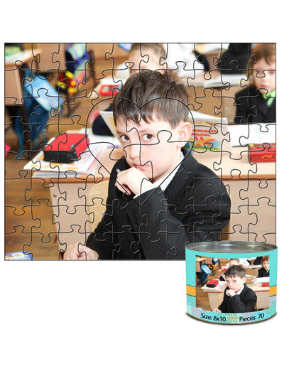 8x10 Autism Awareness Predesigned Puzzle