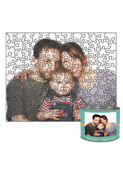 8x10 Stone-Cut with 143 Pieces Custom Puzzle