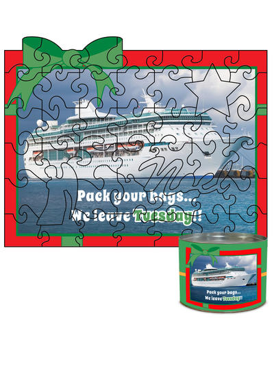 8x10 Holiday Predesigned Puzzle
