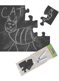 Black Chalkboard Puzzle