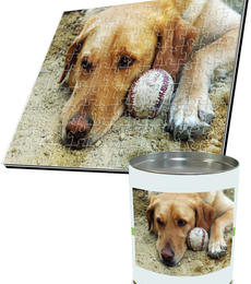 18x24 Jigsaw-Cut with 108 Pieces Custom Acrylic Puzzle