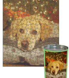 12x16 Jigsaw-Cut with 192 Pieces Custom Puzzle