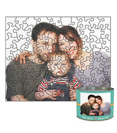 8x10 Stone-Cut with 80 Pieces Custom Puzzle