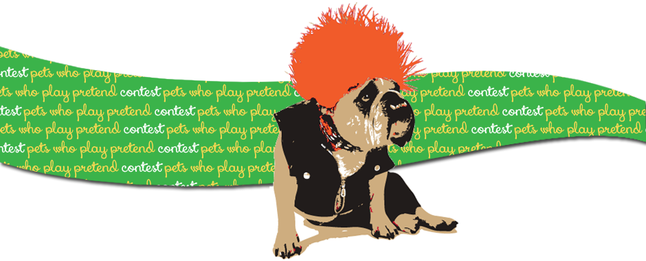 pets who play pretend contest