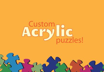 custom acrylic puzzles