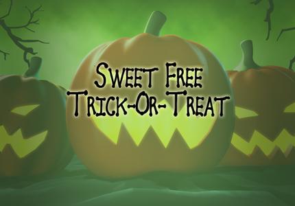 Sweet Free Trick Or Treat
